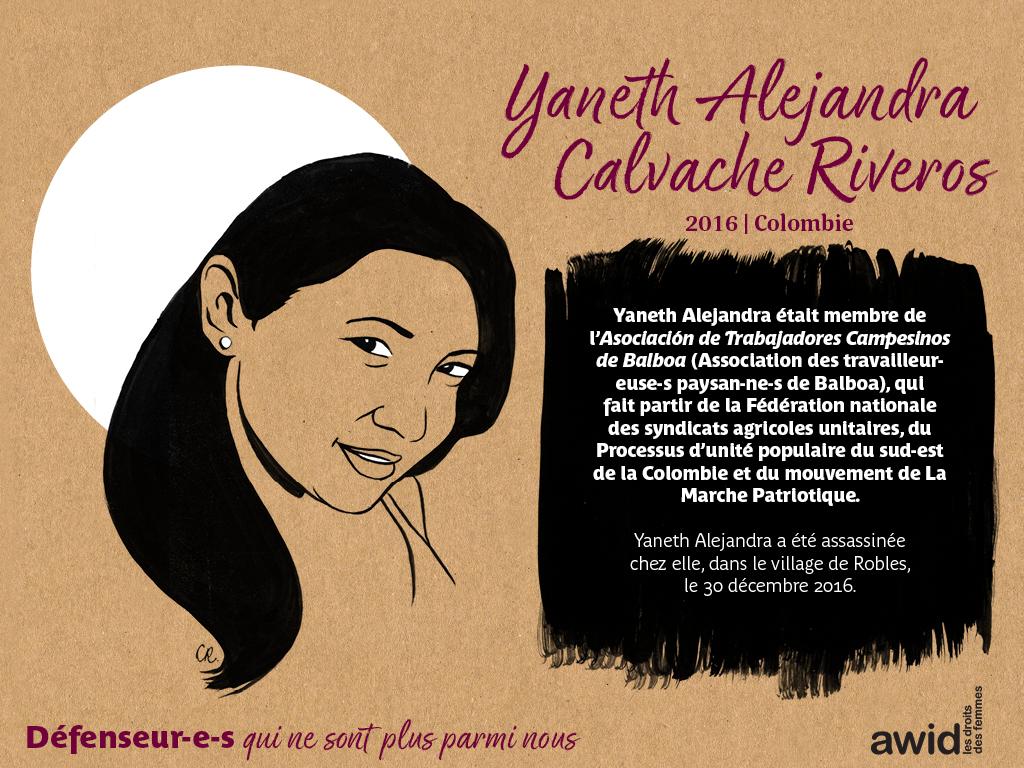 Yaneth Alejandra Calvache Riveros (FR)
