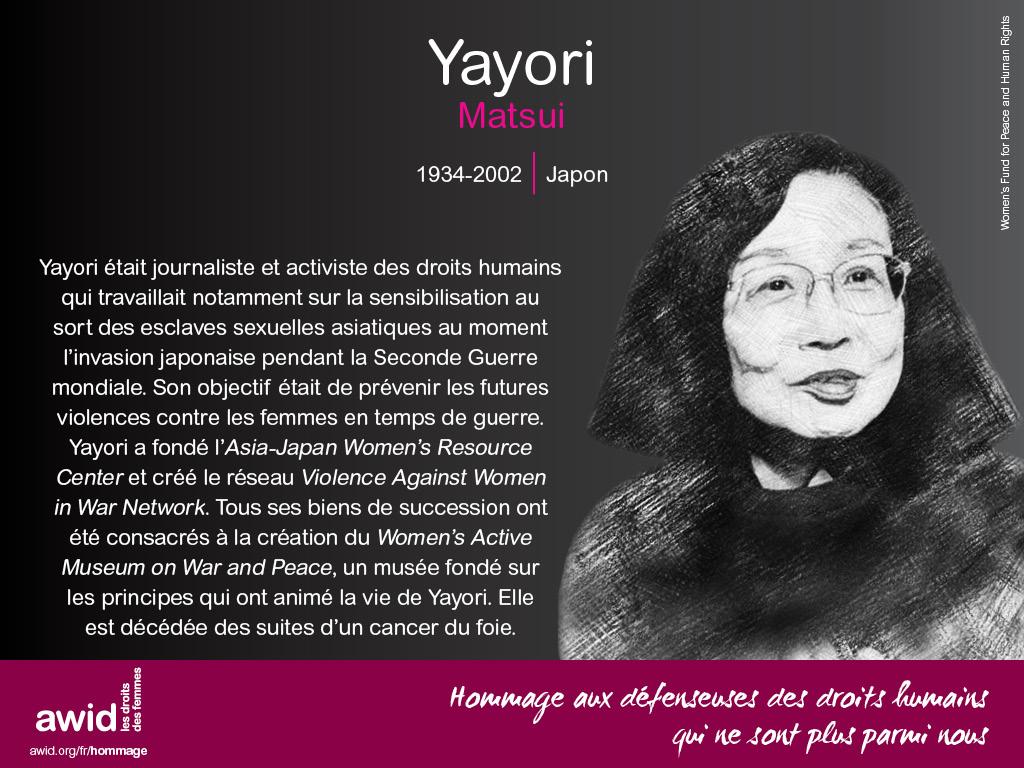 Yayori Matsui (FR)