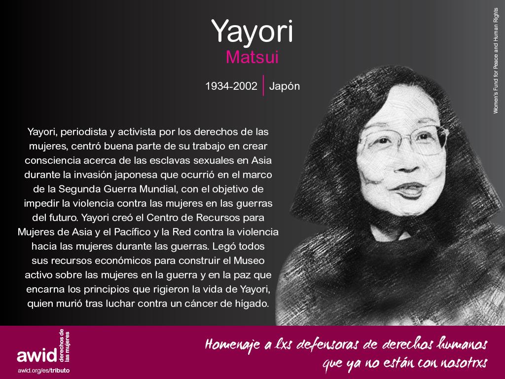 Yayori Matsui (SP)