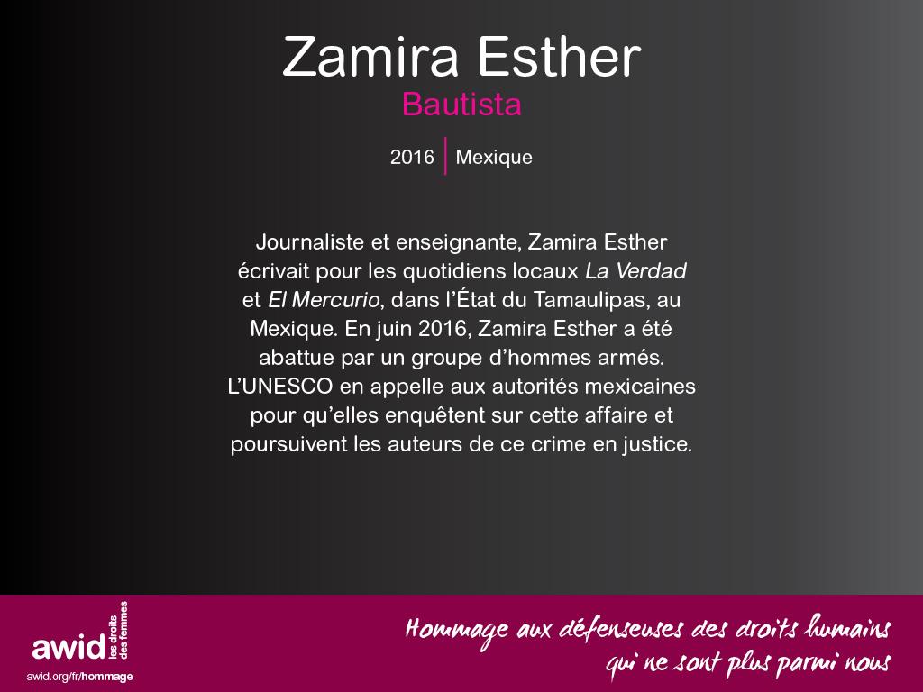 Zamira Esther Bautista (FR)