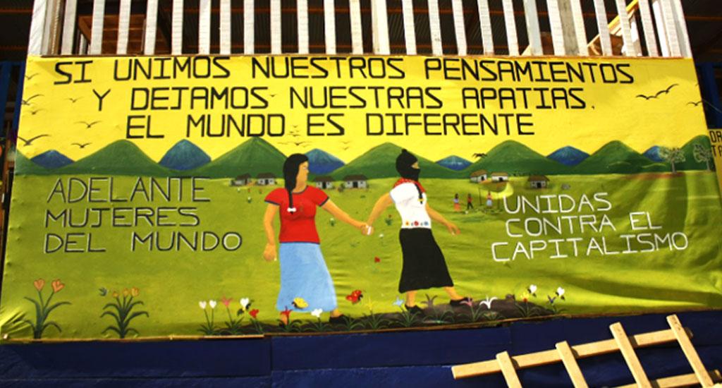 Zapatista women -  poster (1024x550)
